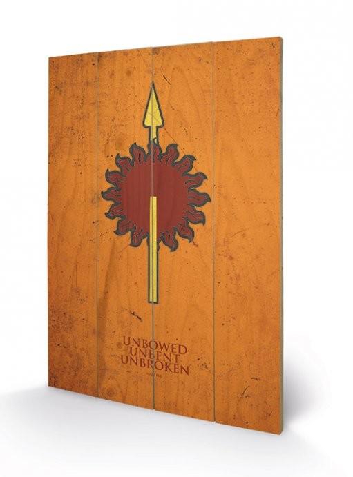 Målning på trä Game of Thrones - Martell