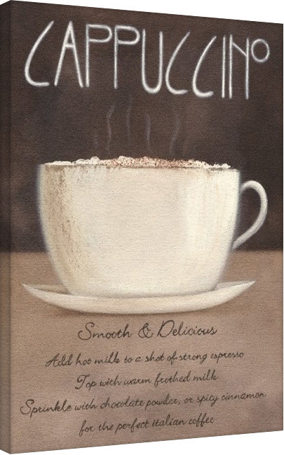 Leinwand Poster Mandy Pritty - Cappuccino