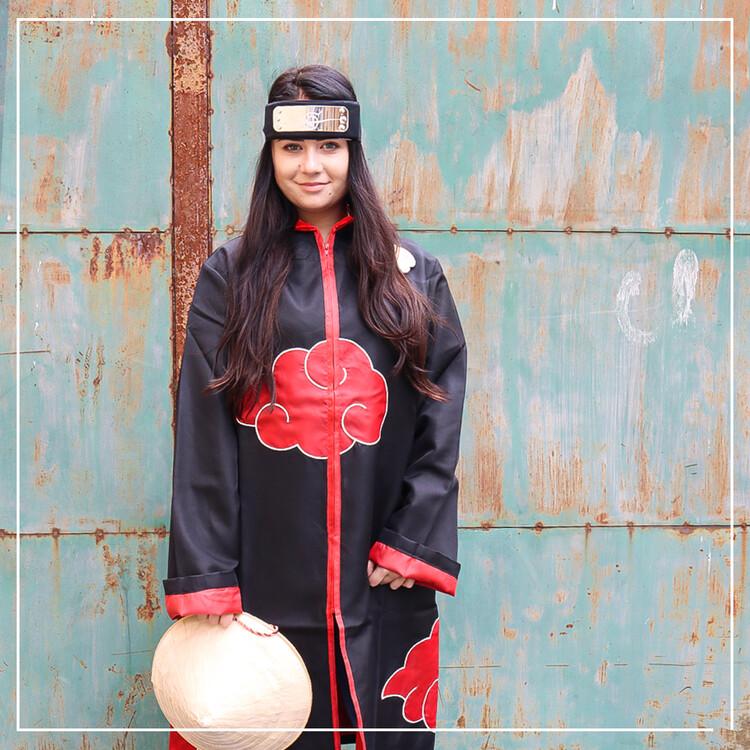 Haine Mantie Naruto Shippuden - Akatsuki