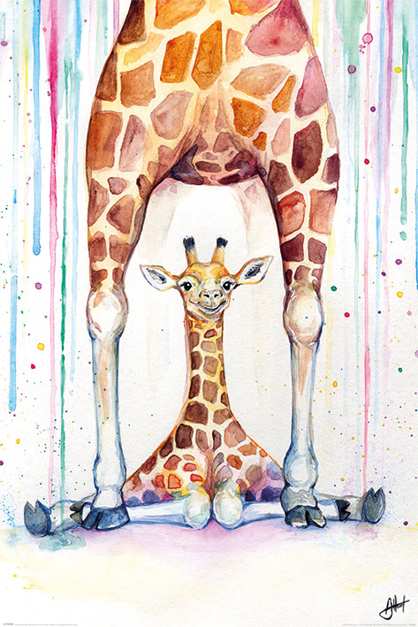 Αφίσα  Marc Allante - Gorgeous Giraffes