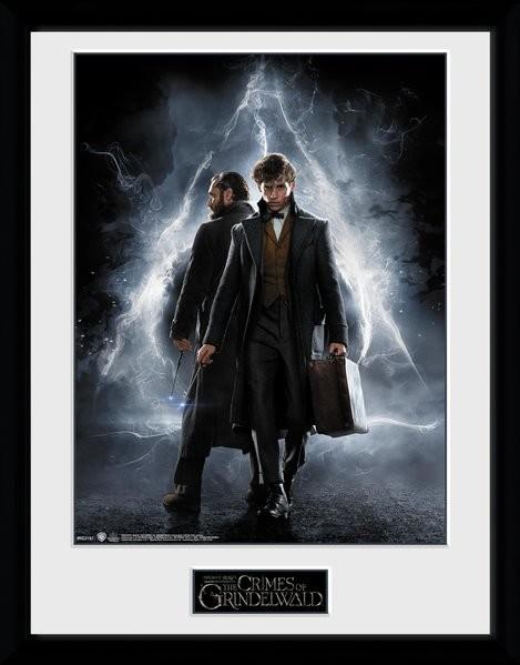 Animales fantásticos: Los crímenes de Grindelwald - One Sheet Poster enmarcado