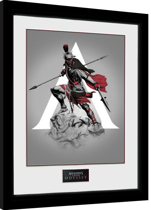 Assassins Creed Odyssey - Graphic Poster enmarcado