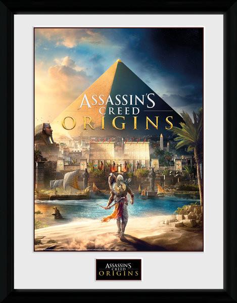 Assassins Creed: Origins - Cover Poster enmarcado