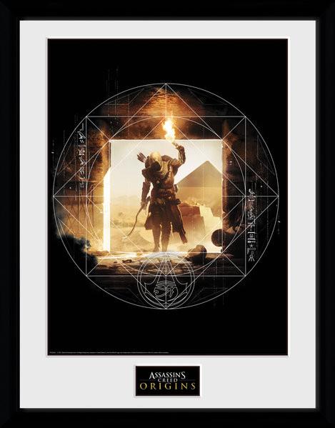 Assassins Creed: Origins - Wanderer Poster enmarcado