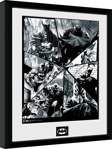 Batman Comic - Collage Poster enmarcado | Europosters.es