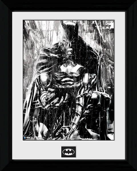 Poster enmarcado Batman Comic - Rain