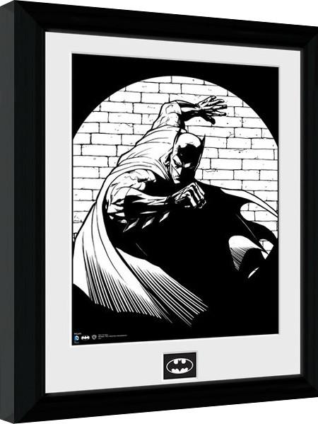 Batman Comic - Spotlight Poster enmarcado