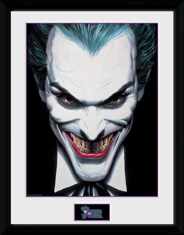 DC Comics - Joker Ross Poster enmarcado