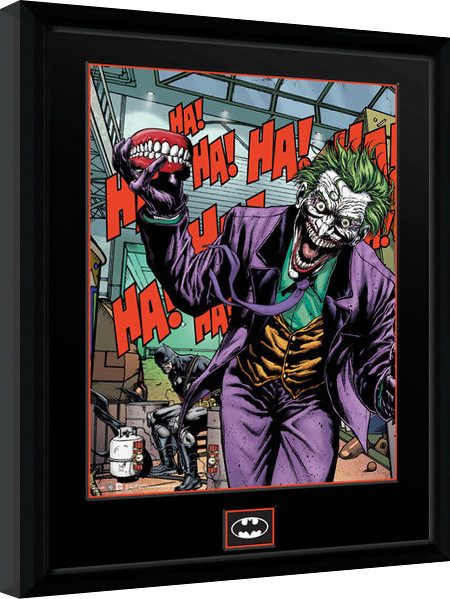 Poster enmarcado DC Comics - Joker Teeth