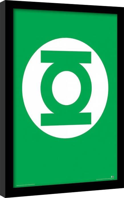DC Comics - Linterna Verde Poster enmarcado