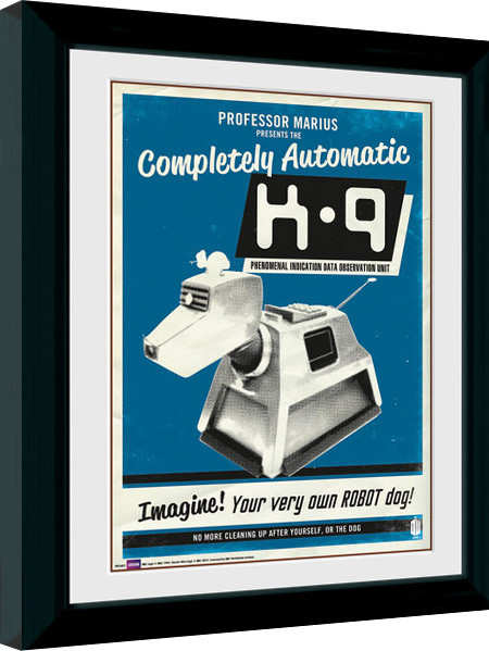 Poster enmarcado Doctor Who - K9
