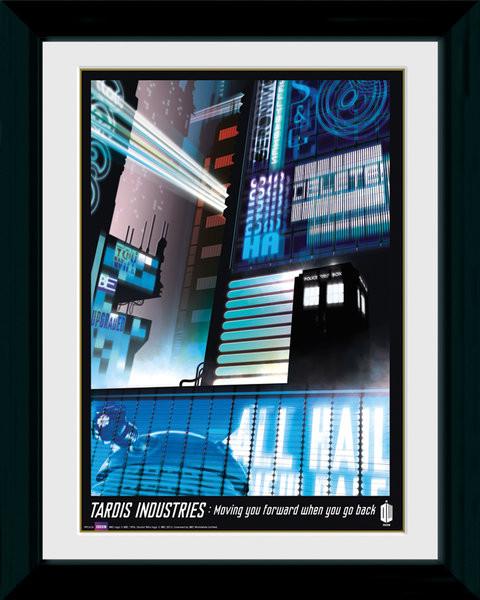 Poster enmarcado Doctor Who - Tardis Industries