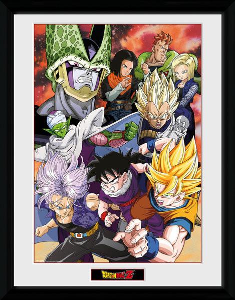 Poster enmarcado Dragon Ball Z - Cell Saga