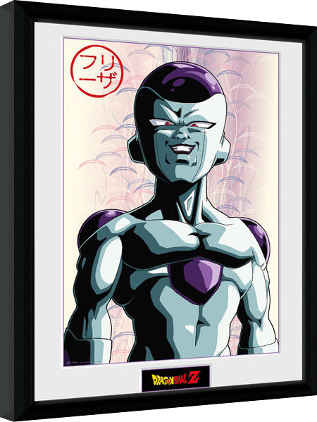 Poster enmarcado Dragon Ball Z - Frieza