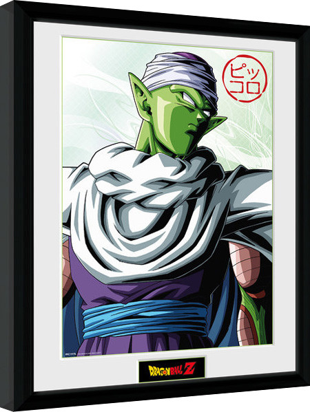 Poster enmarcado Dragon Ball Z - Piccolo