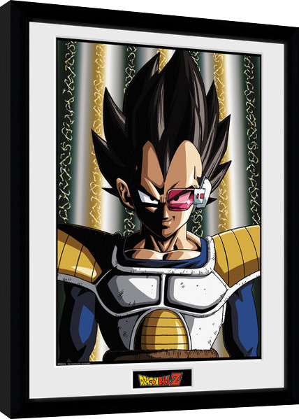 Dragon Ball Z - Vegeta Poster enmarcado