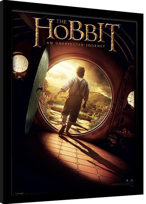 El hobbit - One Sheet Poster enmarcado