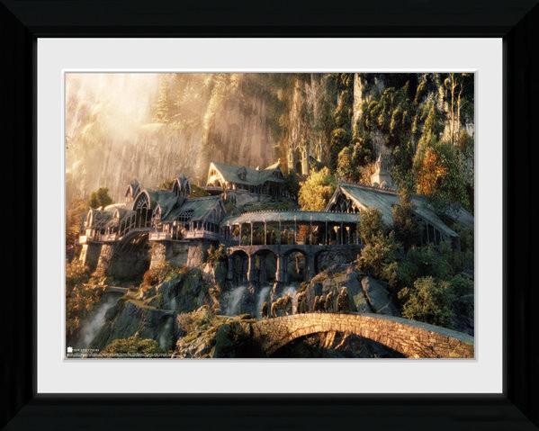 El Señor de los Anillos - Fellowship Of The Ring Poster enmarcado