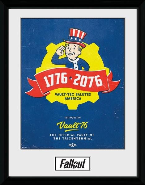 Fallout - Tricentennial Poster enmarcado