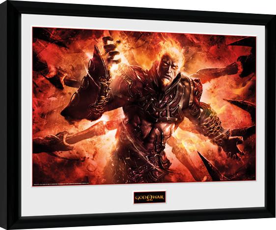 God of War - Ares Poster enmarcado | Europosters.es