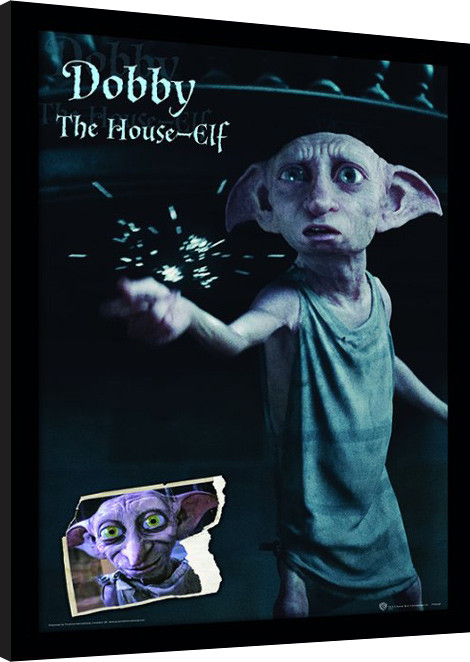 Harry Potter - Dobby Poster enmarcado | Europosters.es