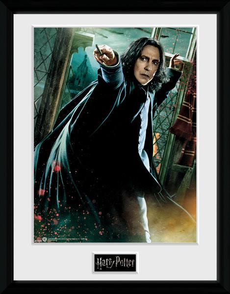 Harry Potter - Snape Wand Poster enmarcado