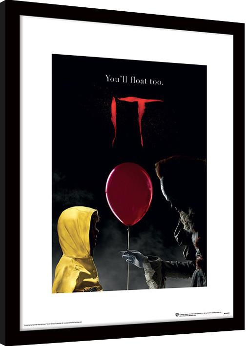 IT - Pennywise & Georgie Poster enmarcado | Europosters.es