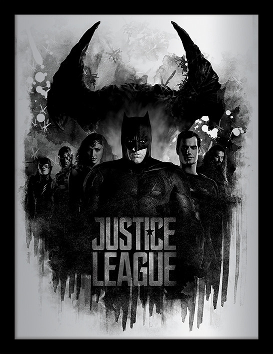 La Liga de la Justicia- Dark Horizon Poster enmarcado