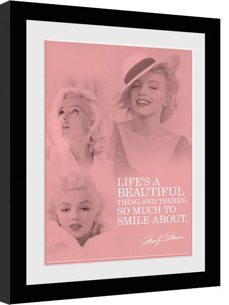 Marilyn Monroe - Angel Poster enmarcado | Europosters.es