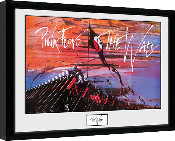 Pink Floid: The Wall - Hammers Poster enmarcado | Europosters.es