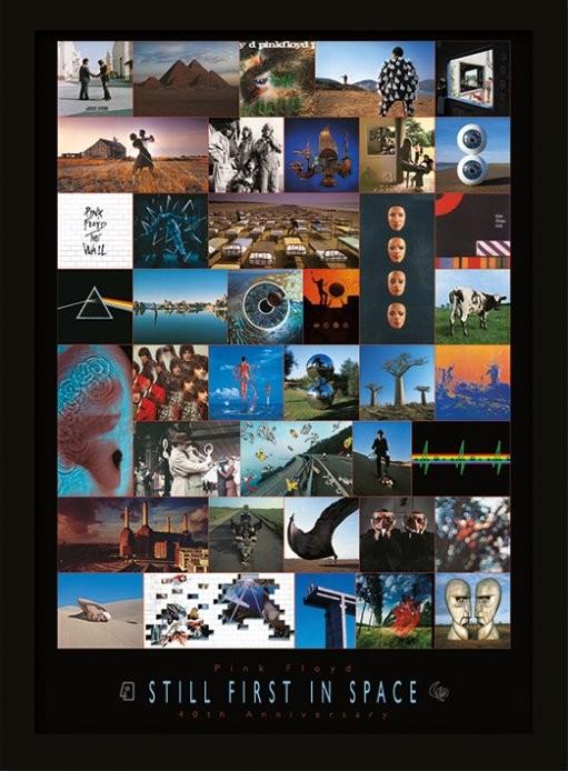 Pink Floyd - 40th Anniversary Poster enmarcado