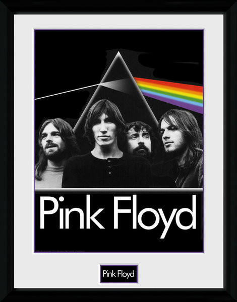 Poster enmarcado Pink Floyd - Prism