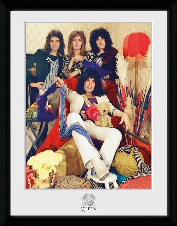 Queen - Band Poster enmarcado