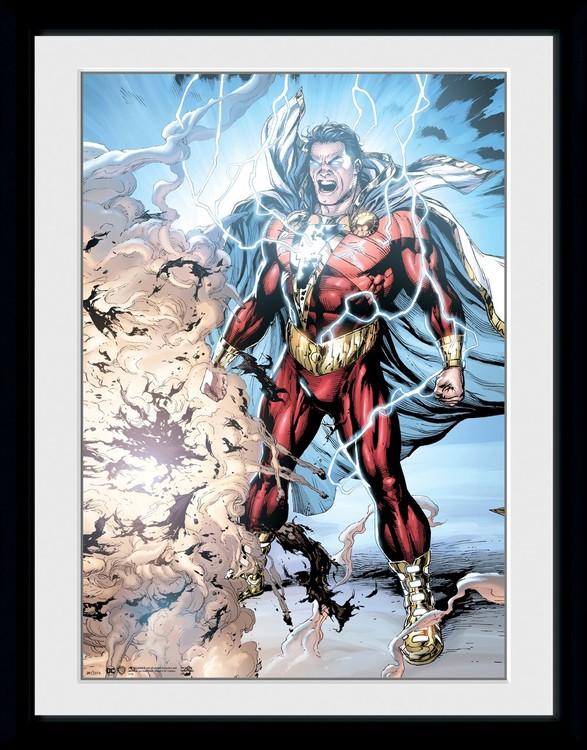 Shazam - Power of Zeus Poster enmarcado
