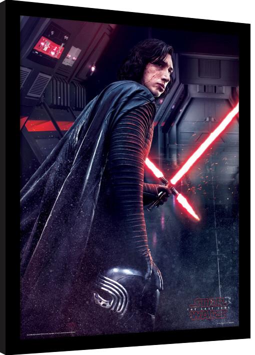 Star Wars: Episodio VIII - Los últimos Jedi - Kylo Ren Rage Poster ...