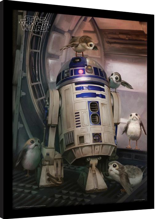 Star Wars: Episodio VIII - Los últimos Jedi - R2-D2 & Porgs Poster ...