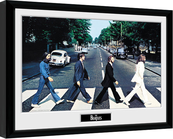 The Beatles - Abbey Road Poster enmarcado | Europosters.es