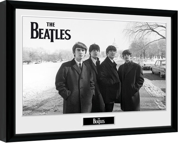 Poster enmarcado The Beatles - Capitol Hill