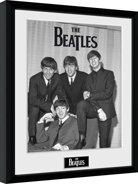 Poster enmarcado The Beatles - Chair