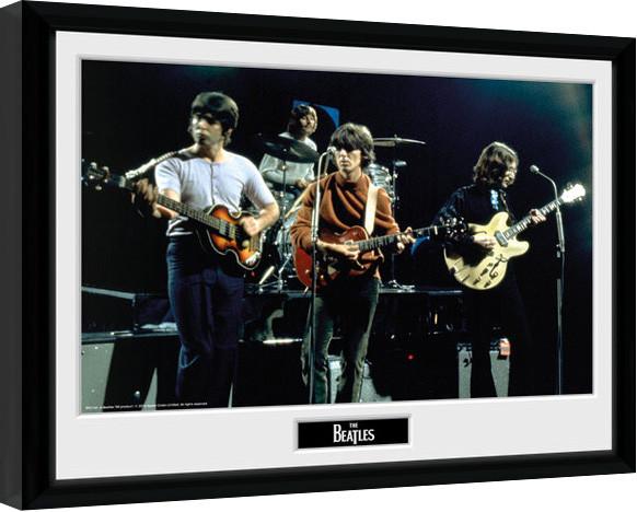 Poster enmarcado The Beatles - Live