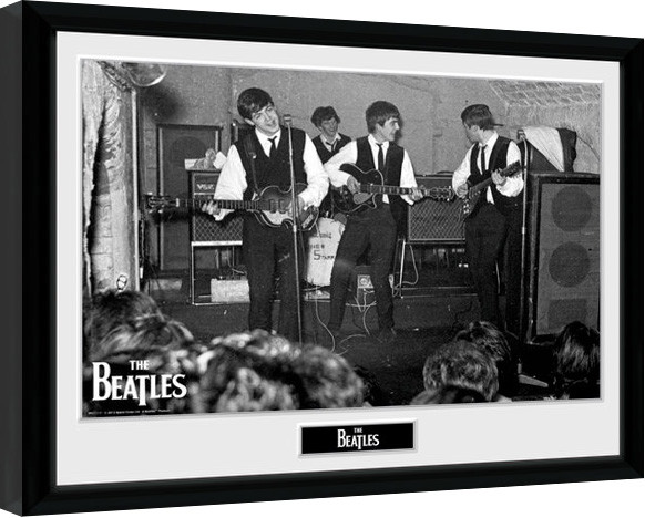 Poster enmarcado The Beatles - The Cavern 3