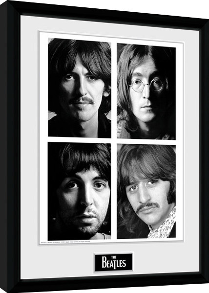 The Beatles - White Album Poster enmarcado | Europosters.es