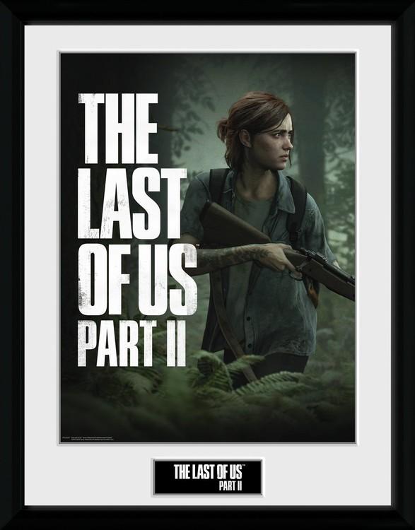 Poster enmarcado The Last Of Us Part 2 - Key Art