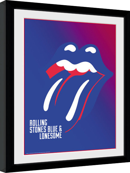 The Rolling Stones - Blue and Lonesome Poster enmarcado | Europosters.es