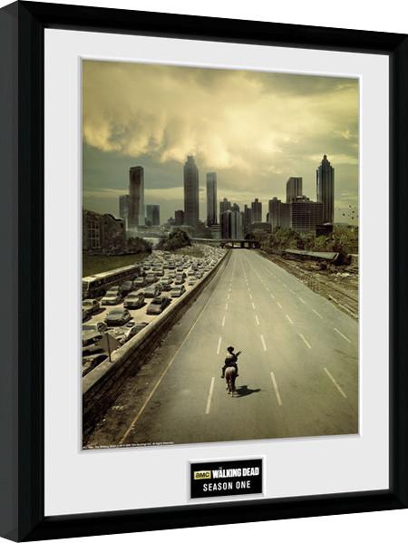 Poster enmarcado The Walking Dead - Season 1