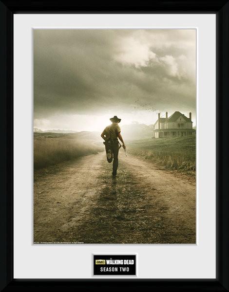 Poster enmarcado The Walking Dead - Season 2