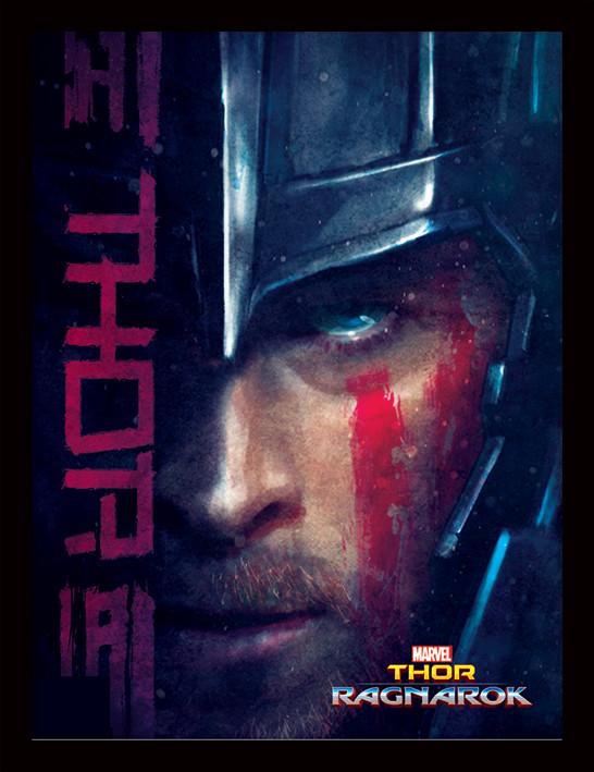 Thor Ragnarok - Thor Poster enmarcado | Europosters.es