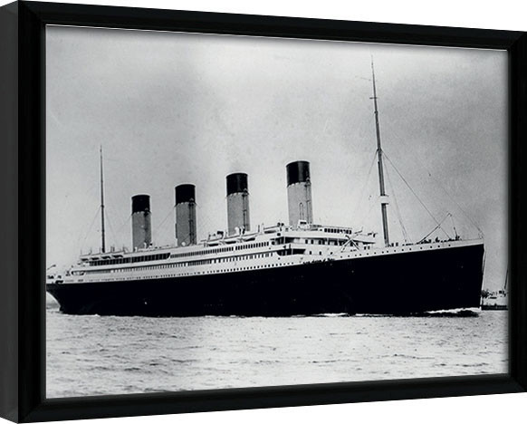 Titanic (2) Poster enmarcado