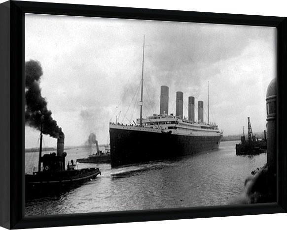 TITANIC (4) Poster enmarcado