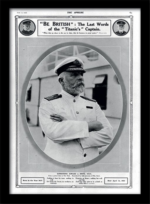 Titanic (5) Poster enmarcado